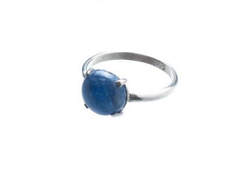 Кольцо из серебра с кианитом, 18 размер