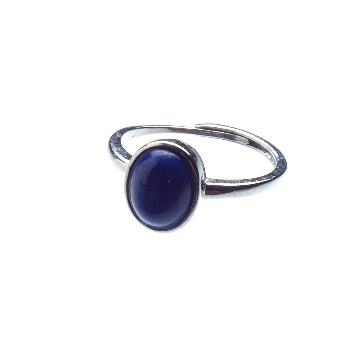 Кольцо из лазурита, безразмерное