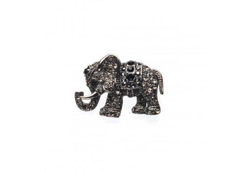 Брошь Слон