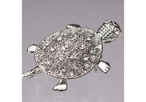 Брошь Черепаха