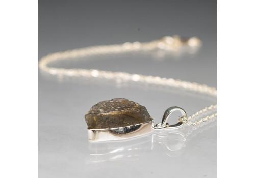 Кулон с лабрадором из серебра
