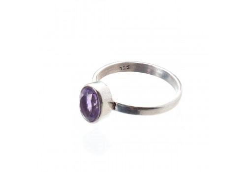 Кольцо из аметиста, 18.5 размер