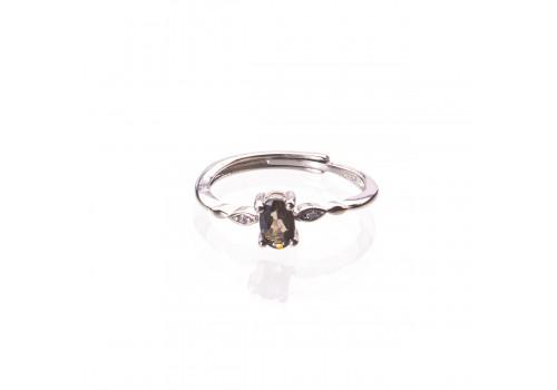 Кольцо  с турмалином