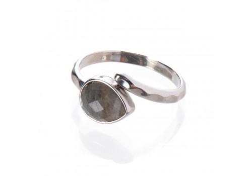 Кольцо с лабрадором, безразмерное